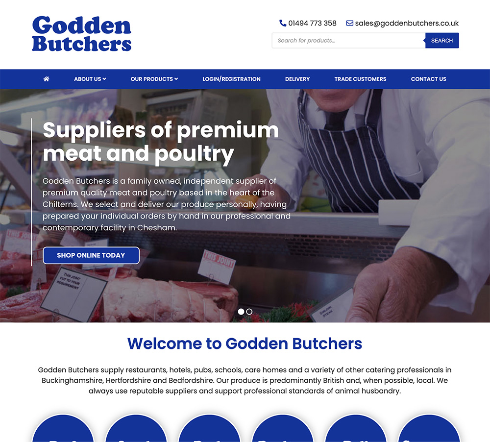 Godden Home Page